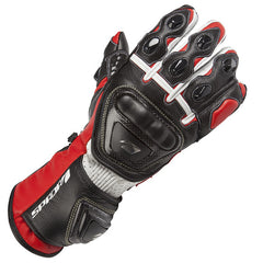 SPADA CURVE RACE SPORTS MOTORCYCLE MOTORBIKE LEATHER GLOVES RED - Spada -  - MSG BIKE GEAR