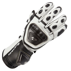 SPADA CURVE RACE SPORTS MOTORCYCLE MOTORBIKE LEATHER GLOVES WHITE - Spada -  - MSG BIKE GEAR