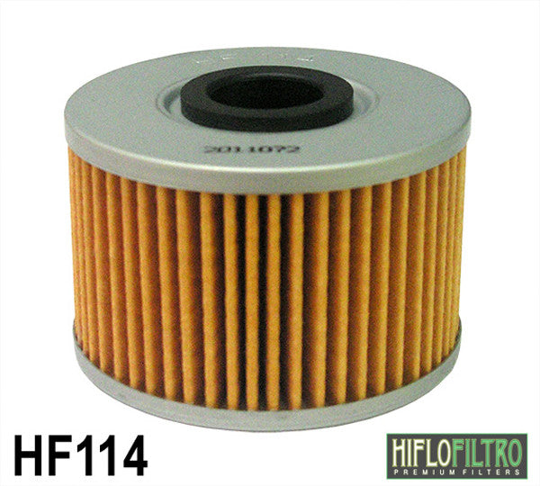 HIFLO HF114 OIL FILTER - Hiflo -  - MSG BIKE GEAR