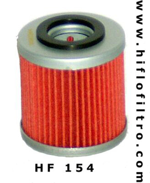 HIFLO HF154 OIL FILTER - Hiflo -  - MSG BIKE GEAR