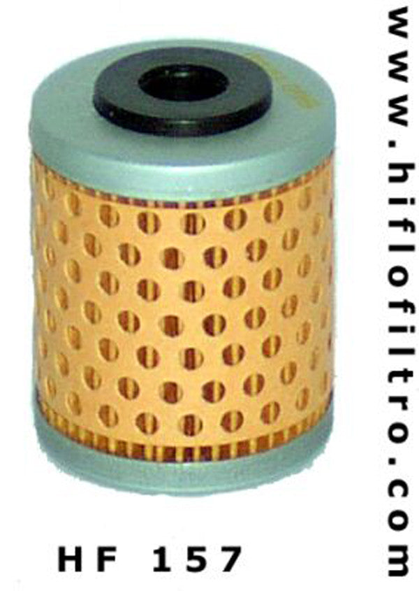 HIFLO HF157 OIL FILTER - Hiflo -  - MSG BIKE GEAR