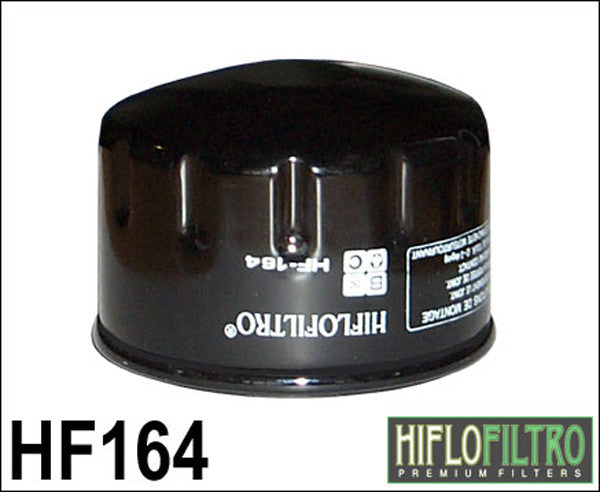 HIFLO HF164 OIL FILTER - Hiflo -  - MSG BIKE GEAR
