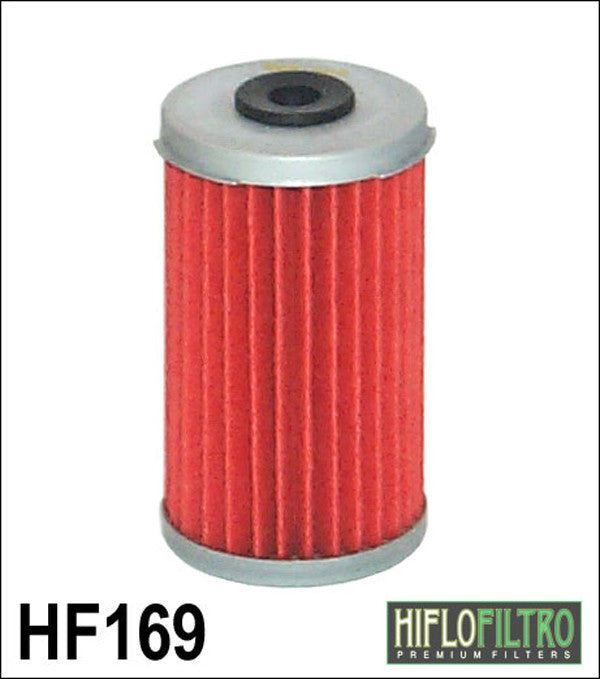 HIFLO HF169 OIL FILTER - Hiflo -  - MSG BIKE GEAR