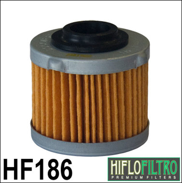 HIFLO HF186 OIL FILTER - Hiflo -  - MSG BIKE GEAR