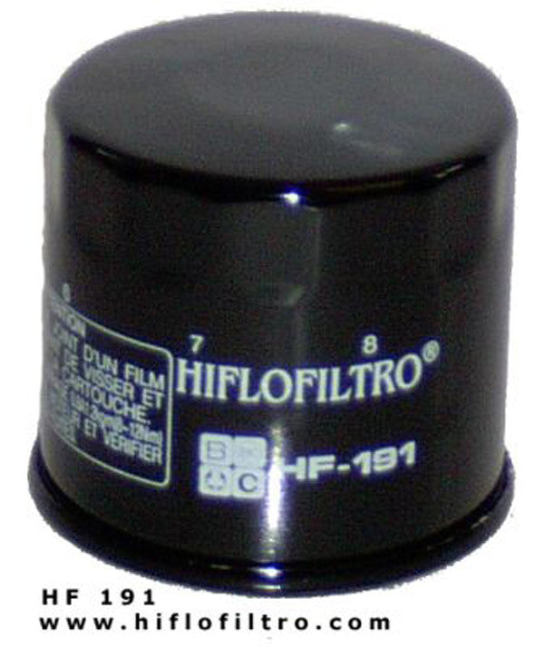 HIFLO HF191 OIL FILTER - Hiflo -  - MSG BIKE GEAR