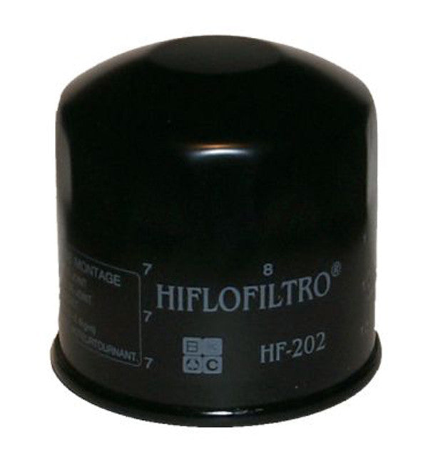 HIFLO HF202 OIL FILTER - Hiflo -  - MSG BIKE GEAR