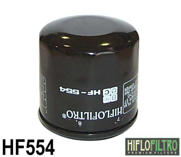 HIFLO HF554 OIL FILTER - Hiflo -  - MSG BIKE GEAR