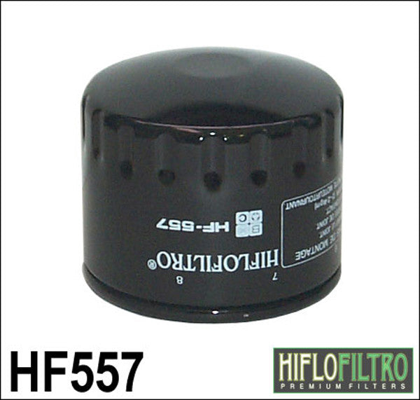 HIFLO HF557 OIL FILTER - Hiflo -  - MSG BIKE GEAR