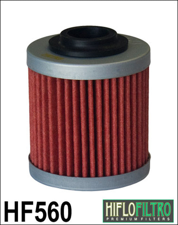 HIFLO HF560 OIL FILTER - Hiflo -  - MSG BIKE GEAR