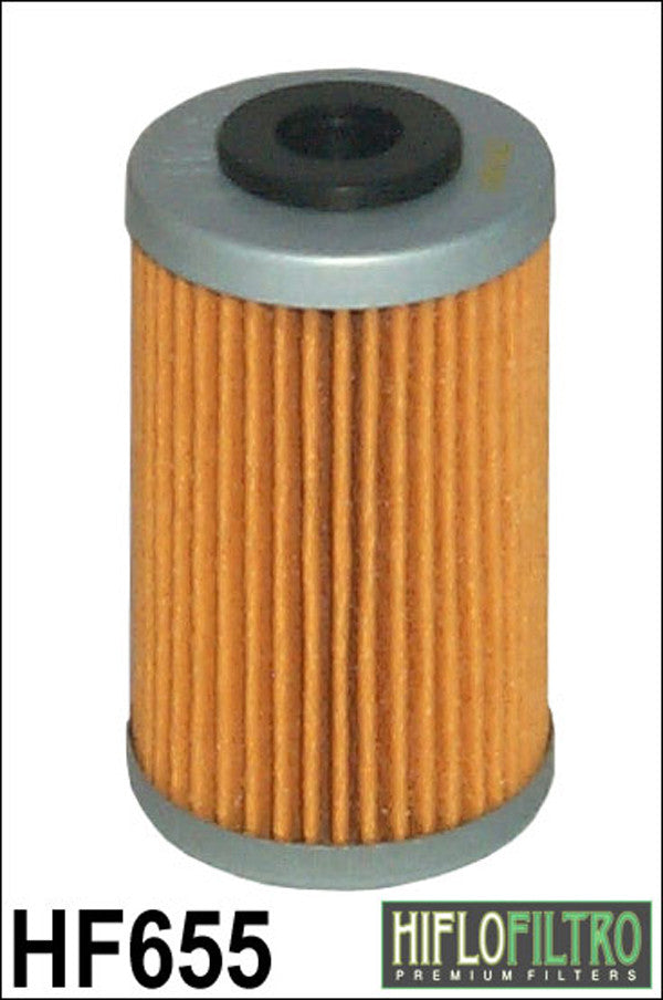HIFLO HF655 OIL FILTER - Hiflo -  - MSG BIKE GEAR