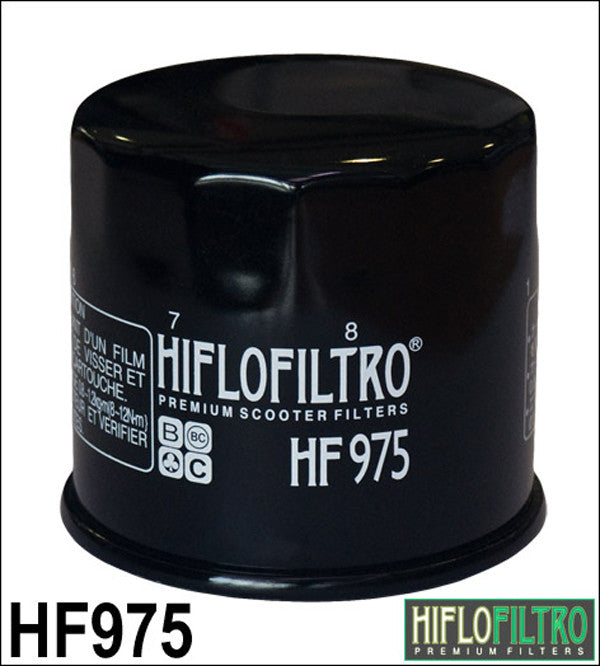 HIFLO HF975 OIL FILTER - Hiflo -  - MSG BIKE GEAR