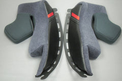 SHOEI HELMET CHEEK PADS GT-AIR TYPE F ALL SIZES - Shoei -  - MSG BIKE GEAR