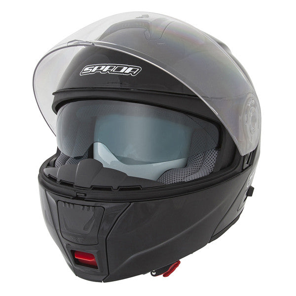 SPADA CYCLONE GLOSS BLACK MOTORCYCLE HELMET - Spada -  - MSG BIKE GEAR