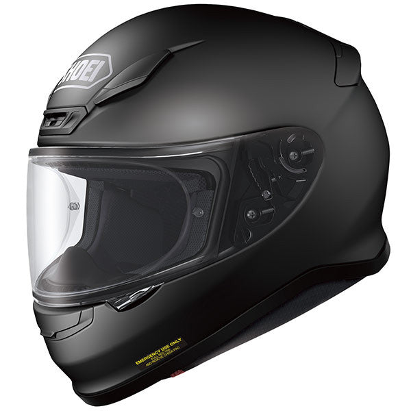 SHOEI NXR MATT BLACK FULL FACE MOTORCYCLE SPORTS HELMET + DARK RACE VISOR - Shoei -  - MSG BIKE GEAR - 1