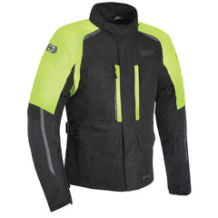 Oxford Continental Advanced Jacket - Black / Fluo Yellow