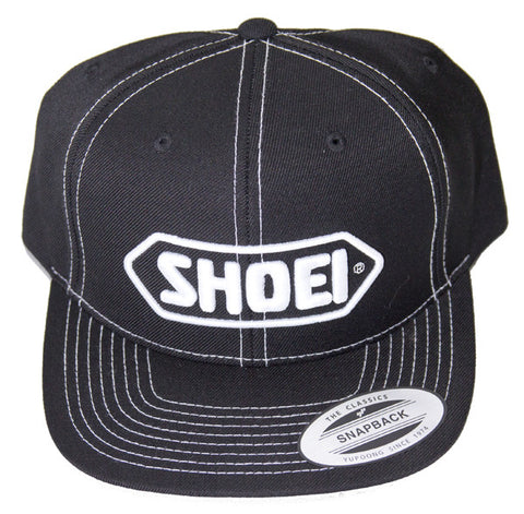 Official Shoei Premium Motorcycle Helmets Baseball Cap Hat - Black (White Logo) - Shoei -  - MSG BIKE GEAR
