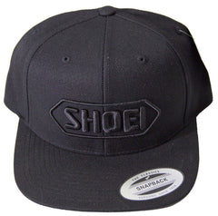 Official Shoei Premium Motorcycle Helmets Baseball Cap Hat - Black (Black Logo) - Shoei -  - MSG BIKE GEAR
