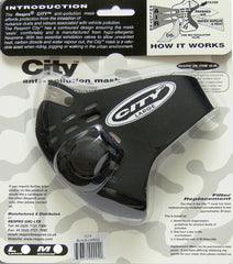 RESPRO CITY ANTI POLLUTION FACE MASK - BLACK - Respro -  - MSG BIKE GEAR