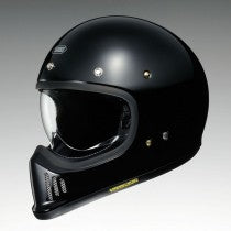 SHOEI EX ZERO BLACK GLOSS HELMET