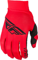 Fly Racing 2019 Adult Pro Lite MX Off Road Gloves - Red/Black