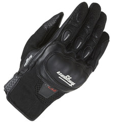 Furygan Lancaster Men's CE Approved Leather/Textile Motorcycle Gloves Black - Furygan -  - MSG BIKE GEAR - 1