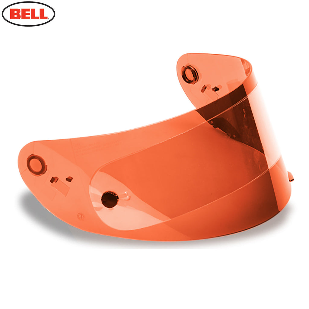 Bell  Star / RS-1 / Qualifier  Shield (HI-DEF Race) W/Anti Scratch & UV Orange - Bell -  - MSG BIKE GEAR