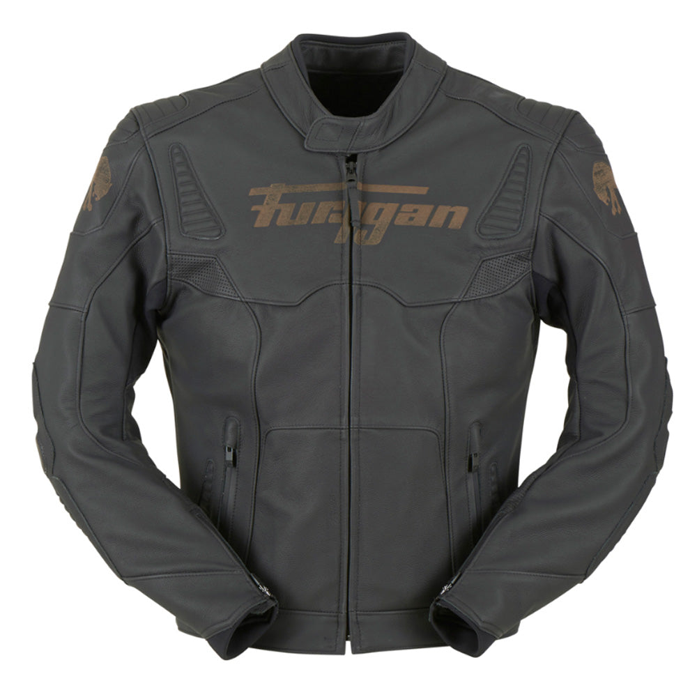 Furygan Fury Sherman Sport Leather CE Jacket - Black