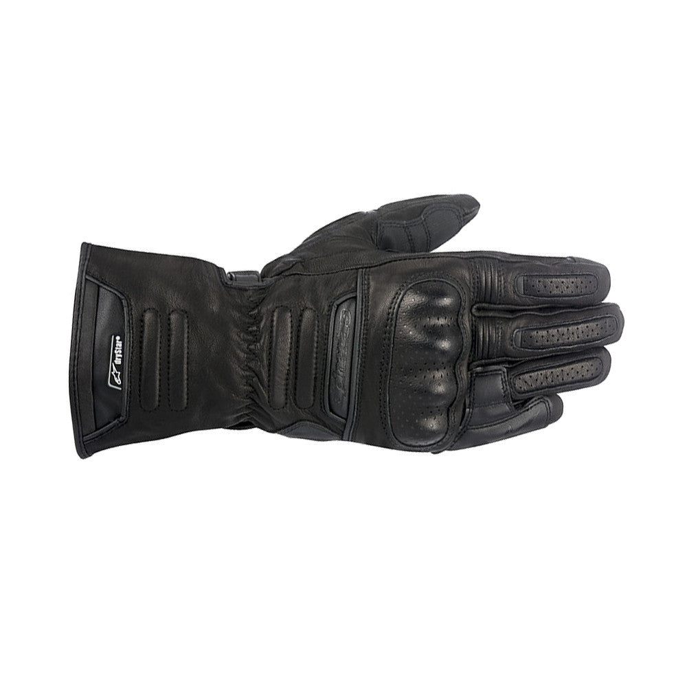 Alpinestars M56 Drystar Waterproof Leather Motorbike Motorcycle Gloves Black - Alpinestars -  - MSG BIKE GEAR - 1