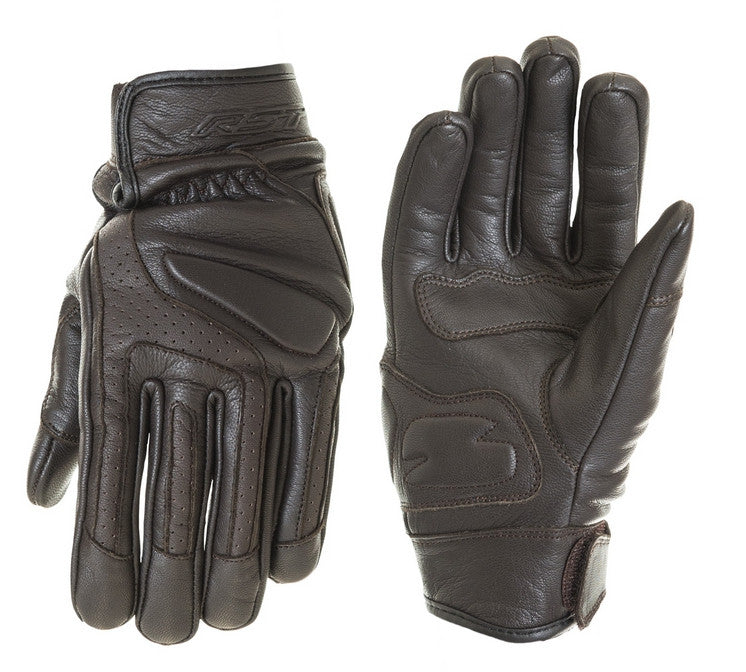 RST 1724 CRUZ MENS MOTORCYCLE GLOVES BROWN - RST -  - MSG BIKE GEAR - 1
