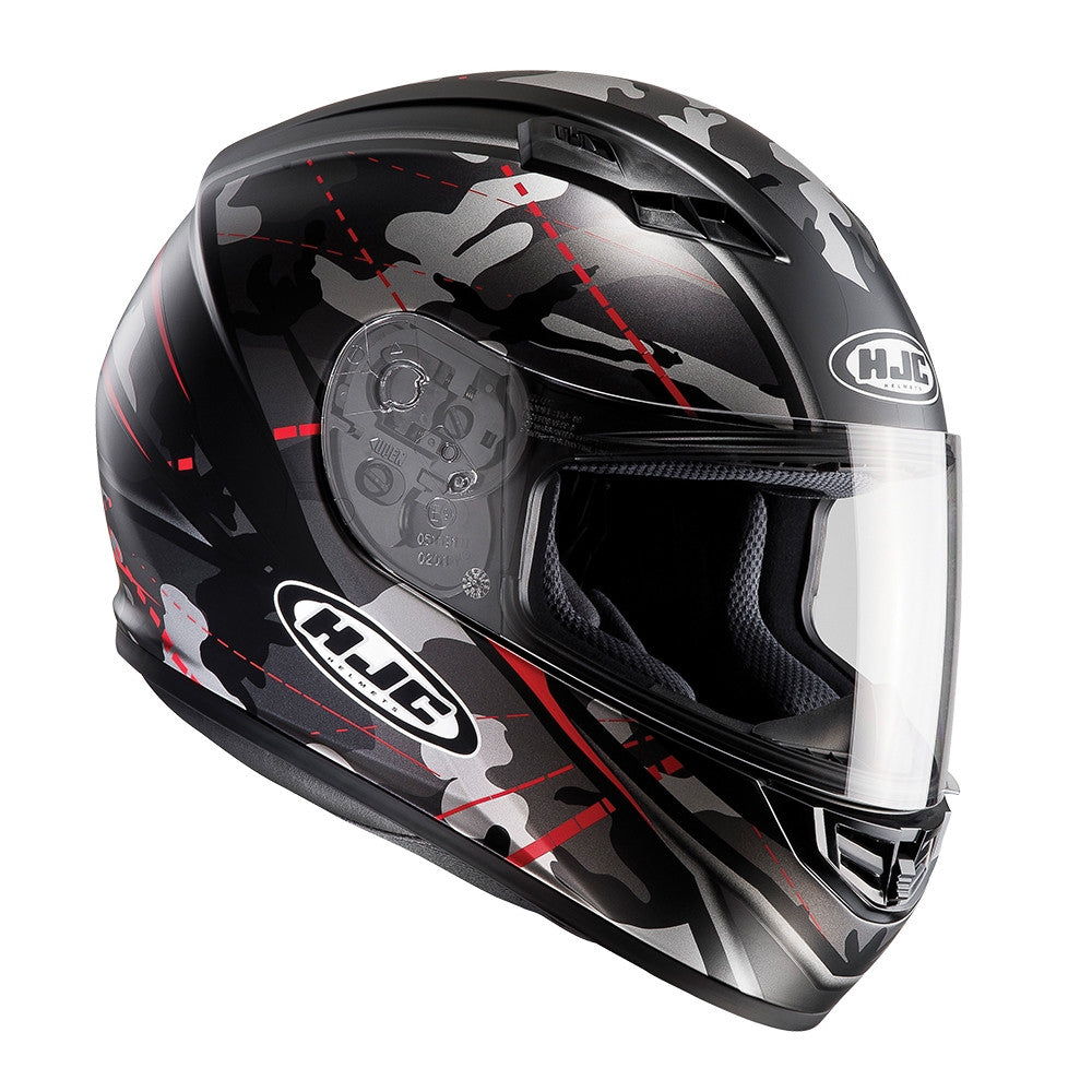 HJC CS-15 Full Face Helmet - Songtan Red