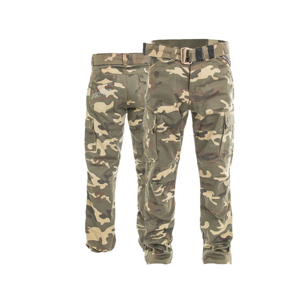 RST 2215 ARAMID Cargo Motorcycle Textile Jeans Inc Belt - Desert Camo - RST -  - MSG BIKE GEAR - 1