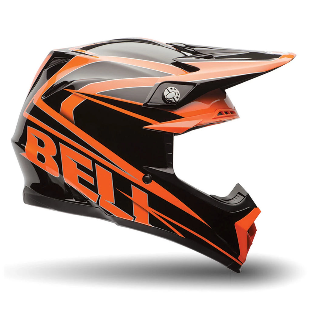 Bell MX Moto-9 Enduro Motocross Helmet (Tracker Orange) - Bell Helmets -  - MSG BIKE GEAR