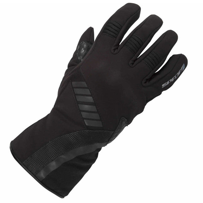 SPADA MIDNIGHT SOFT SHELL SILICON GRIP WATERPROOF MOTORCYCLE GLOVES NEW - Spada -  - MSG BIKE GEAR - 1