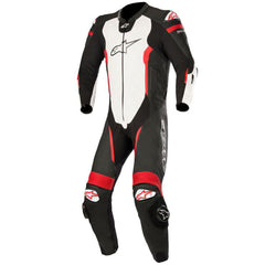 Alpinestars Missile Leather 1 Pc Suit - Tech Air Compatible - Black/White/Red