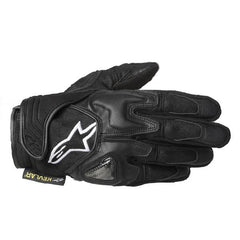 Alpinestars Scheme ARAMID Motorcycle Motorbike Gloves Black - Alpinestars -  - MSG BIKE GEAR