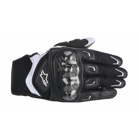 Alpinestars Stella S-MX 2 Air Carbon Womens Motorcycle Gloves Black & White - Alpinestars -  - MSG BIKE GEAR