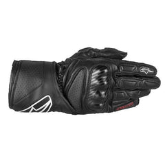 Alpinestars Sp-8 Leather Motorcycle Gloves Black - Alpinestars -  - MSG BIKE GEAR