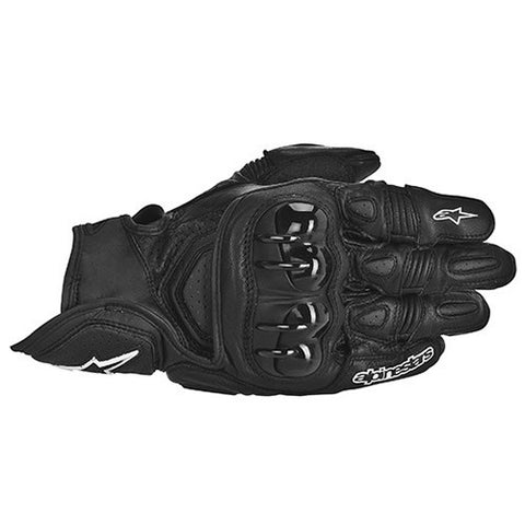 Alpinestars Gpx Leather Motorcycle Gloves Black - Alpinestars -  - MSG BIKE GEAR