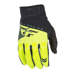 Fly Racing 2018 F-16 Adult MX Off Road Motocross Gloves - Black/Hi-Viz
