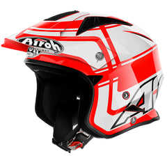 Airoh TRR S Open Face MX Helmet - Vintage Red