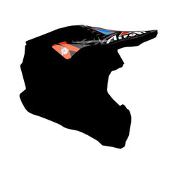Airoh Twist Replacement MX Helmet Peak - Iron Orange