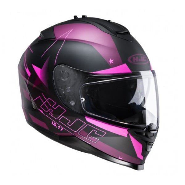 HJC IS-17 Inner Sun Visor Full Face Motorcycle Helmet - Armada MC8F Pink - HJC -  - MSG BIKE GEAR - 1