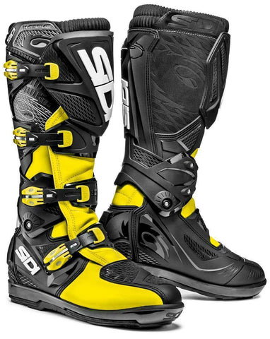 Sidi Xtreme Off Road MX MotoCross Enduro Bike Motorcycle Boots - Fluo/Black - Sidi -  - MSG BIKE GEAR - 1