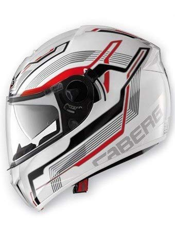 Caberg Ego Streamline Helmet - White / Red