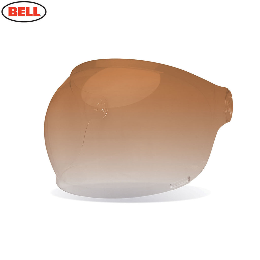 Bell Bullitt Helmet Bubble Shield / Visor (Black Tabs) Amber Graident - Bell Helmets -  - MSG BIKE GEAR