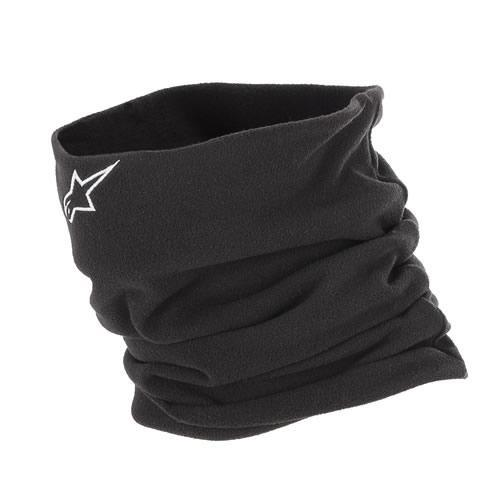 Alpinestars Neck Warmer Motorcycle Fleece Neck Tube Black - One Size new - Alpinestars -  - MSG BIKE GEAR