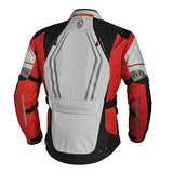 Richa Infinity Waterproof Textile Motorcycle Jacket Black/Grey/Red - Richa -  - MSG BIKE GEAR - 2