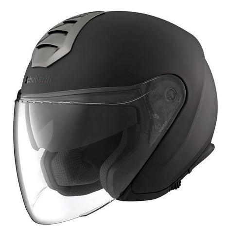 Schuberth M1 DVS Open Face Scooter Motorcycle Helmet London Matt Black - SCHUBERTH -  - MSG BIKE GEAR - 1