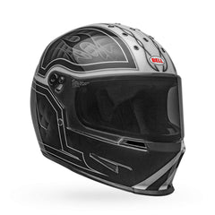 Bell Eliminator Outlaw Full Face Helmet - Black/White