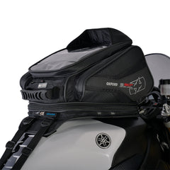 Oxford S30R Strap On Motorbike Motorcycle Tank Bag - Black - 30 Litres - Oxford -  - MSG BIKE GEAR - 1